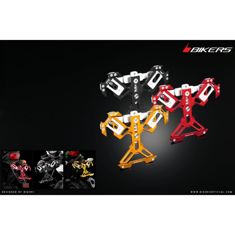 Support de Plaque Immatriculation Bikers Honda Forza 300 2018 2019