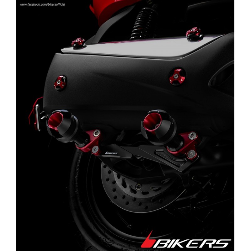 Set Vis Protection Echappement Bikers Honda Forza Nss 300