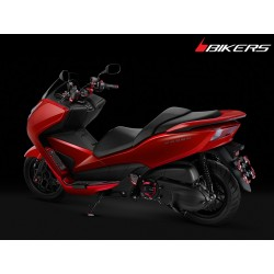 Premium Rear License Support Bikers Honda Forza 300