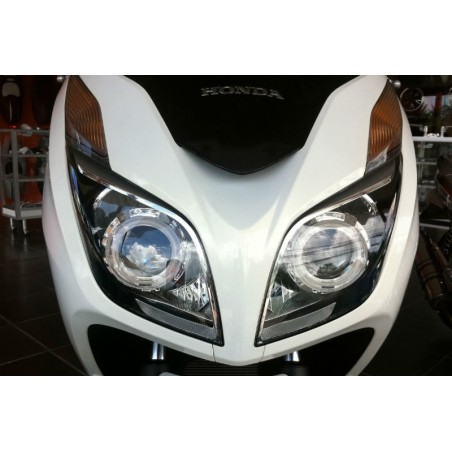 Xenon Headlight Chrom Unit Angels Eyes Honda Forza Nss 300