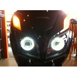 Xenon Headlight Inner Black Unit Angels Eyes Honda Forza Nss 300