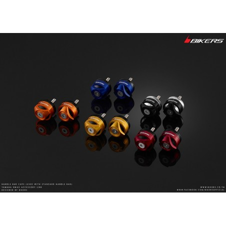 Handle Bar Caps (Use with Genuine Handle Bar) Bikers Honda Forza Nss 300